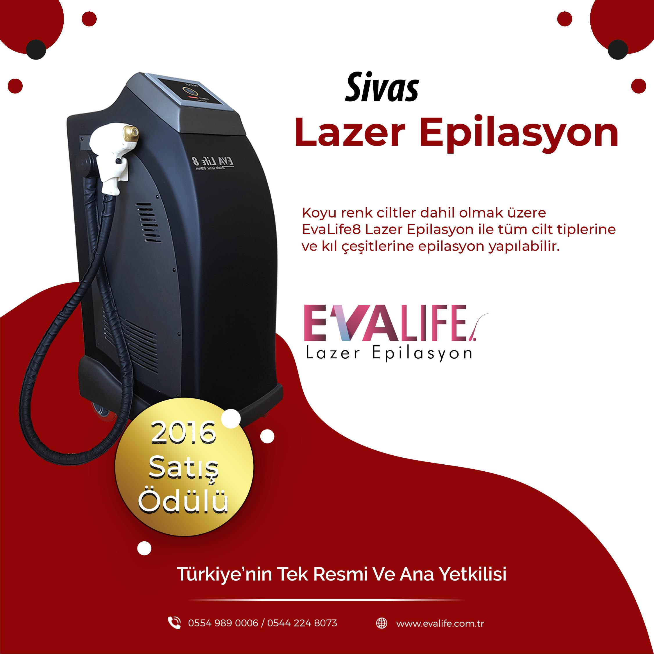 Sivas Lazer Epilasyon